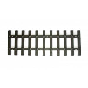 94647 Bachmann G Scale 1' Straight Track Ties Without Rails (50/Carton)