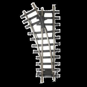 94659 Bachmann G Scale Universal Brass Track 30 Degree 4' Diameter Turnout - Left