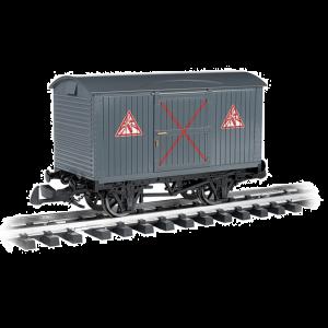 98017 Large Scale Thomas & Friends Planked Van 'Explosives'