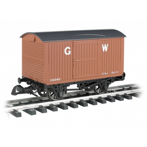 98018 Large Scale Thomas & Friends 12 Ton Planked Van 'Great Western'
