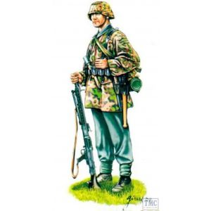 Armourfast Set 99007 1/72 Scale WW2 German Machine Gun Team (Pre owned)
