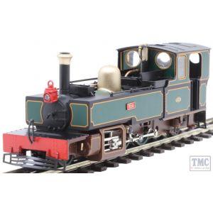 9950 Heljan OO9 Narrow Gauge Lynton & Barnstaple 2-6-2T 759 'Yeo' L&B Dark Green