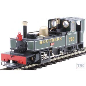 9951 Heljan OO9 Narrow Gauge Lynton & Barnstaple 2-6-2T 760 'Exe' SR Green