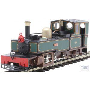 9955 Heljan OO9 Narrow Gauge Lynton & Barnstaple 2-6-2T 1362 'Exe' L&B Dark Green