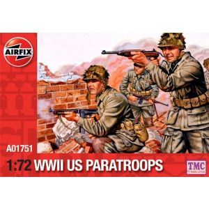 A01751 Airfix WWII U.S. Paratroops 1:72