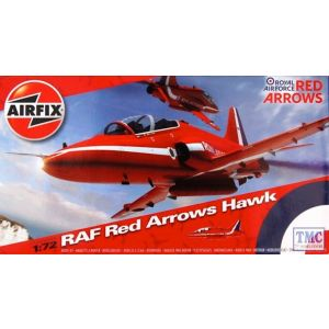 A02005A Airfix 1:72 RAF Red Arrows Hawk Kit