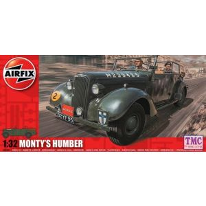 A05360 Airfix 1:32 Monty's Humber Snipe Staff Car