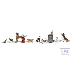A1841 Woodland Scenics OO Gauge Dogs & Cats
