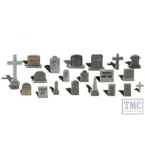 A1856 Woodland Scenics OO Gauge Tombstones