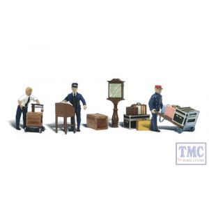 A2211 Woodland Scenics N Gauge Depot Workers & Accessories