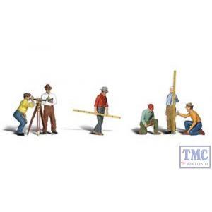 A2741 Woodland Scenics Painted Figures O Surveyors