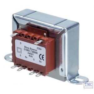 A4043 Chassis Transformer 230V 6VA 9v+9v - Suitable for Dapol Motorised Signals