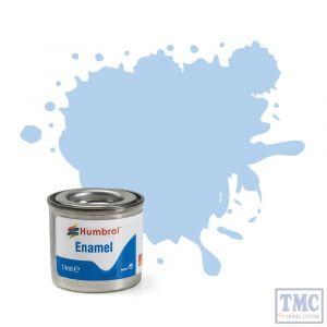 AA0044 Humbrol No 44 Pastel Blue Matt Enamel Tinlet No 1 (14ml)