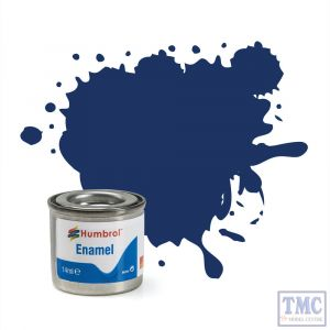 AA0165 Humbrol Enamel Paint Tinlet No 15 Midnight Blue - Gloss - (14ml)