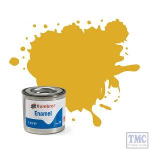 AA0179 Humbrol Enamel Paint Tinlet No 16 Gold Metallic Tinlet No 1 (14ml)