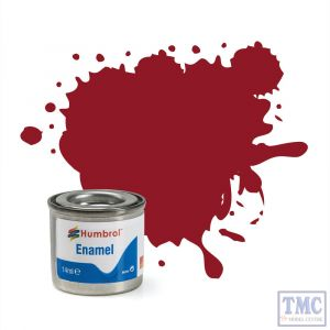 AA0223 Humbrol Enamel Paint Tinlet No 20 Crimson - Gloss - (14ml)