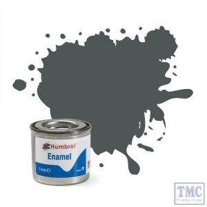 AA0299 Humbrol Enamel Paint Tinlet No 27 Sea Grey - Matt - (14ml)