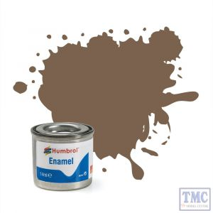 AA0312 Humbrol Enamel Paint Tinlet No 29 Dark Earth - Matt - (14ml)