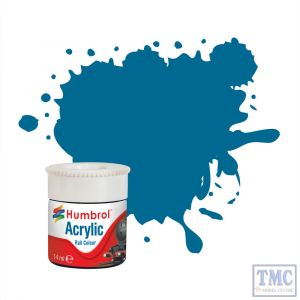 AB2404 Humbrol Garter Blue RC404 Acrylic Rail Colour Paint