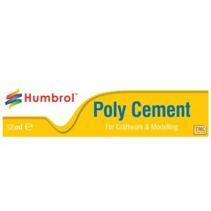AE4021 Humbrol Poly Cement Medium (Tube)