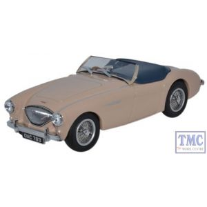 AH1002 Oxford Diecast 1:43 Scale Austin-Healey 100 BN1 (Tonneau) Coronet Cream Austin Healey