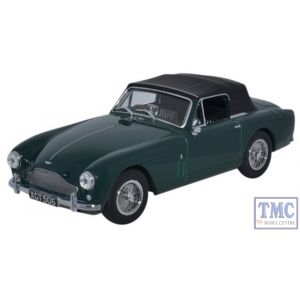 AMDB2002 Oxford Diecast 1:43 Scale Aston Martin DB2 MkIII DHC DDark British Racing Green Aston Martin DB2