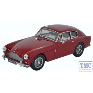 AMDB2003 Oxford Diecast 1:43 Scale O Gauge Aston Martin DB2 MkIII Saloon Peony Red