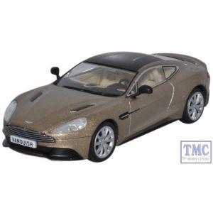 AMV002 Oxford Diecast 1:43 Scale Aston Martin Vanquish Coupe Selene Bronze Aston Martin Vanquish
