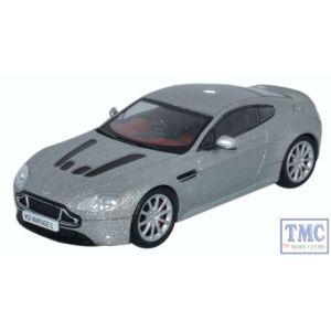 AMVT002 Oxford Diecast 1:43 Scale O Gauge Aston Martin V12 Vantage S Lightning Silver