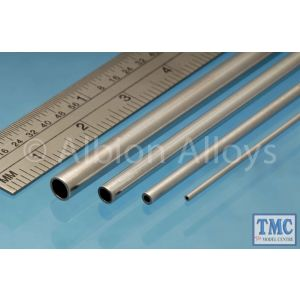AT3M Albion Alloys Aluminium Tube 3 x 0.45 mm 4 Pack