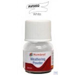 AV0002 Humbrol Weathering Powder 28ml White