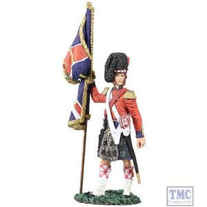 B10029 W.Britain Black Watch Ensign with Queen's Colour Crimean War 1854 Museum Collection