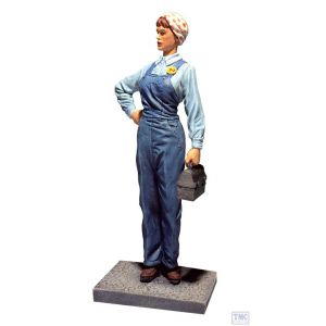 B10059 W.Britain Rosie The Riveter 1941-1945 Museum Collection
