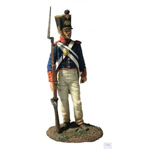 B10064 W.Britain Mexican Infantry No.1 1836 Museum Collection
