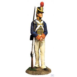 B10071 W.Britain U.S. Artilleryman 1813-14 Museum Collection
