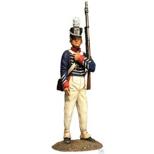 B10072 W.Britain U.S. Infantryman 1811-12 Museum Collection