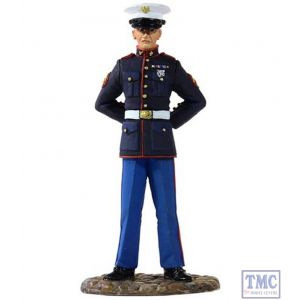 B13001 W.Britain U.S. Marine in Dress Blue Jack Tars & Leathernecks Collection