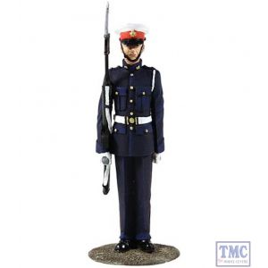 B13002 W.Britain British Royal Marine King's Squad 1970's Jack Tars & Leathernecks Collection