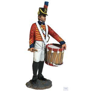 B13032 W.Britain US Marine Drummer 1811-1818 Jack Tars & Leathernecks