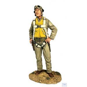 "B13039 W.Britain U.S.M.C. Pilot Major Gregory ""Pappy"" Boyington 1943 Jack Tars & Leathernecks"