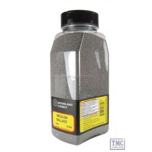 B1382 Woodland Scenics Grey Medium Ballast