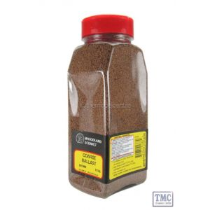 B1386 Woodland Scenics Brown Coarse Ballast