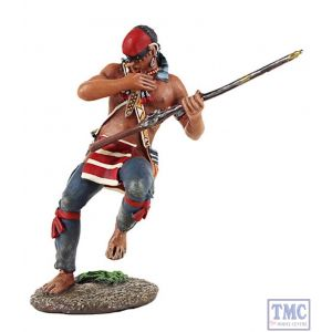 B16016 W.Britain Eastern Woodland Indian Falling Casualty 1 Clash of Empires Collection