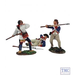 B16024 W.Britain Attack On The Military Road 3 Piece Ltd. Ed. 450 Clash of Empires Collection