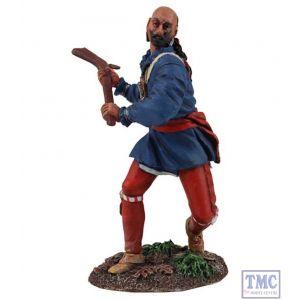 B16025 W.Britain Eastern Woodland Indian Swinging Gunstock Warclub Clash of Empires Collection