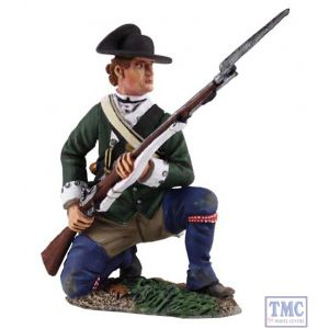 B16029 W.Britain Loyalist Butler's Ranger Kneeling at Ready Clash of Empires Collection