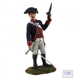B16031 W.Britain Continental Army 1st American Regiment Officer 1 Clash of Empires Collection