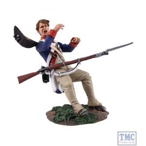 B16033 W.Britain Continental Army 1st American Regiment Casualty 1 Clash of Empires Collection