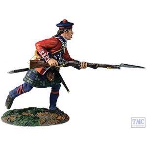 B16054 W.Britain 42nd RHR Battalion Coy Charging No.1 1760-63 Clash of Empires