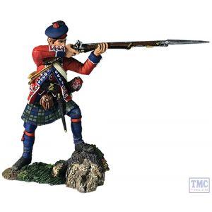 B16055 W.Britain 42nd RHR Battalion Coy Standing Firing No.2 1760-63 Clash of Empires